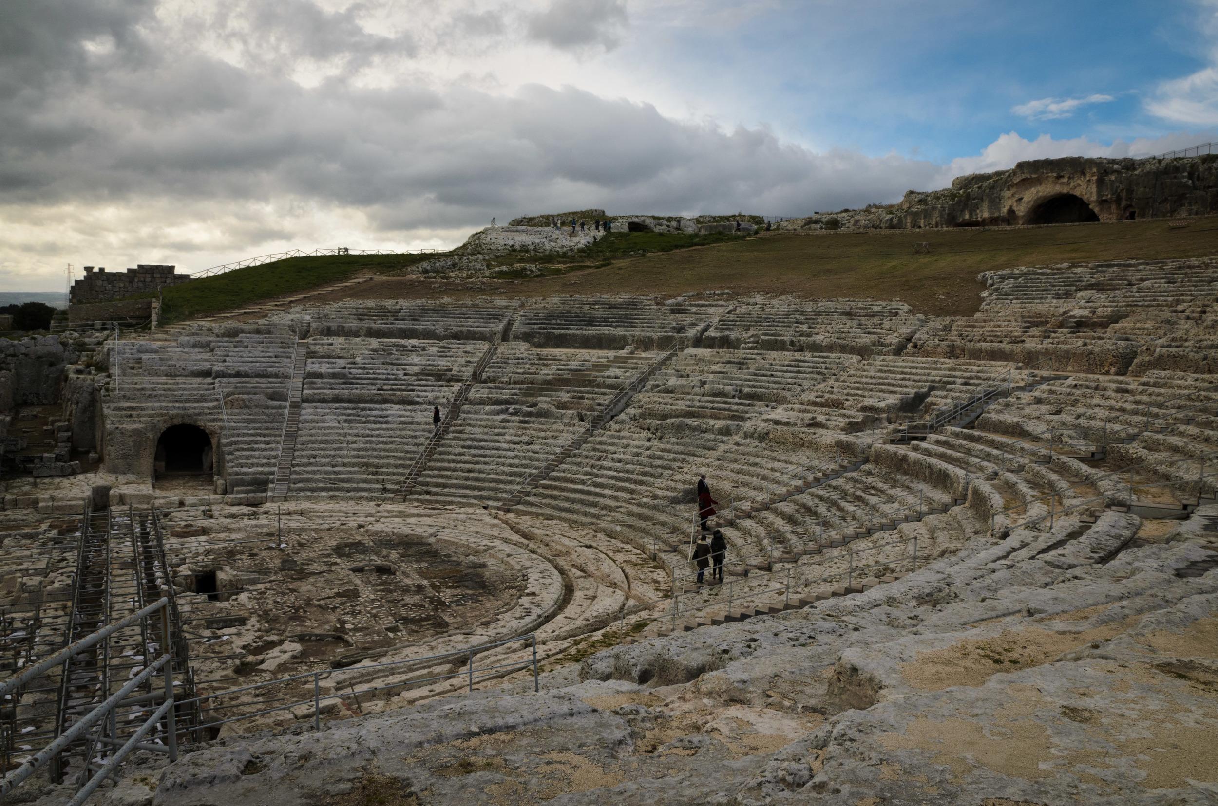 Greek theater at Syracuse