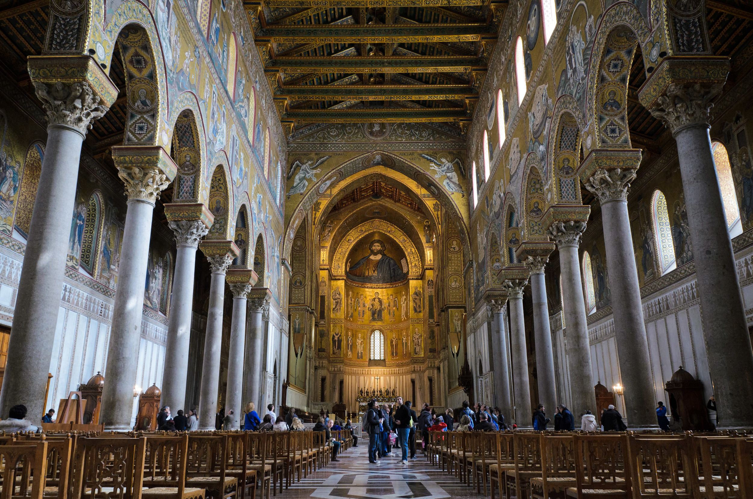 Monreale Cathedral in Palermo