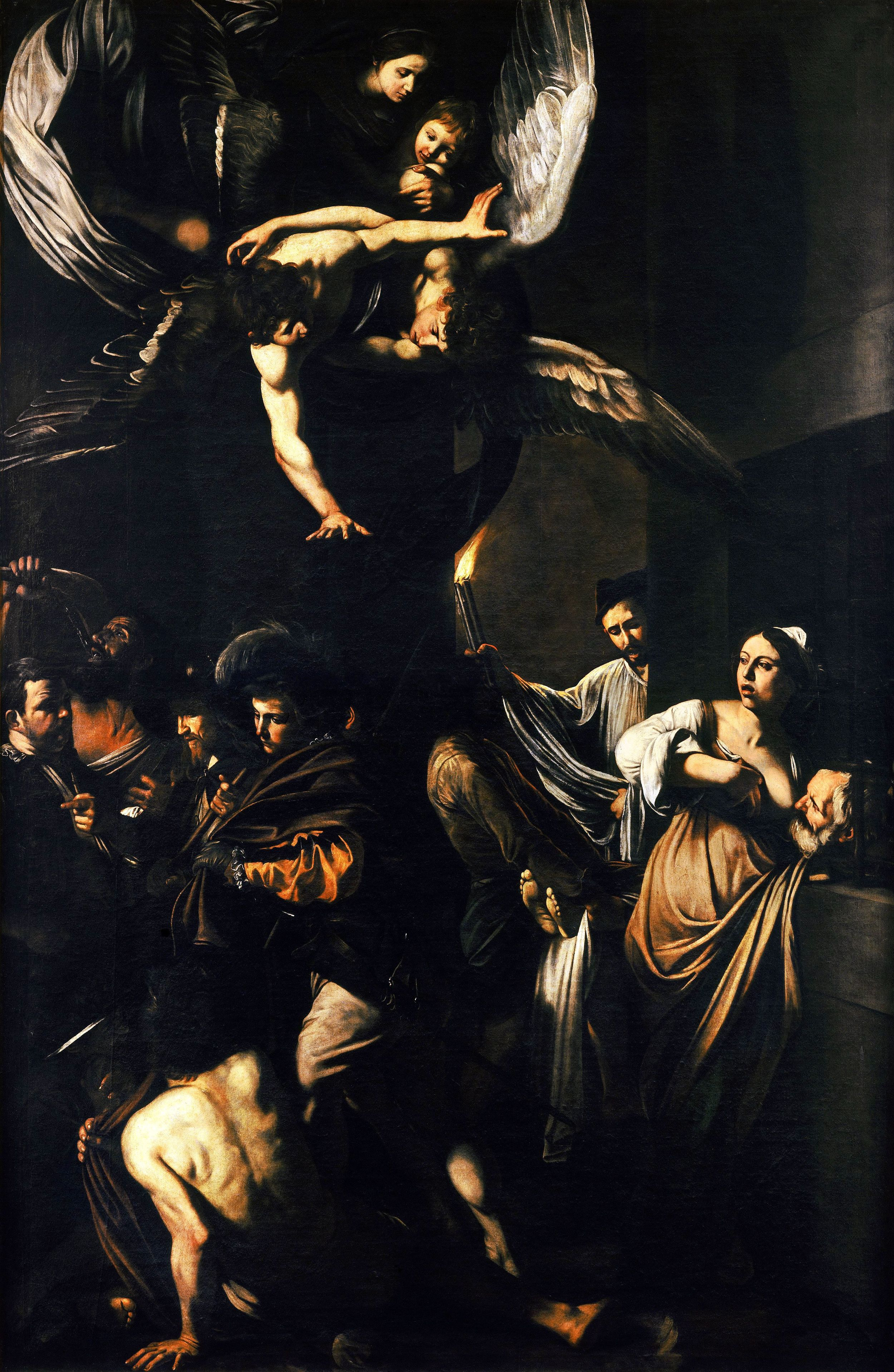 I would be remiss if at some point I didn't mention Caravaggio, whose works came to be a recurring element of the latter half of the semester and made the mandatory art history day in Naples bearable for those of us who weren't taking the class. This painting alone made up for the thousands of In Facts driven violently into our ears that day.