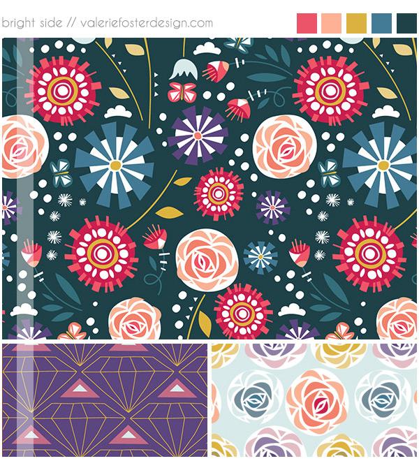©2014 Valerie Foster Design | valeriefosterdesign.com | Represented by Pink Light Studio | SURTEX 2014 BOOTH 417 and 516
