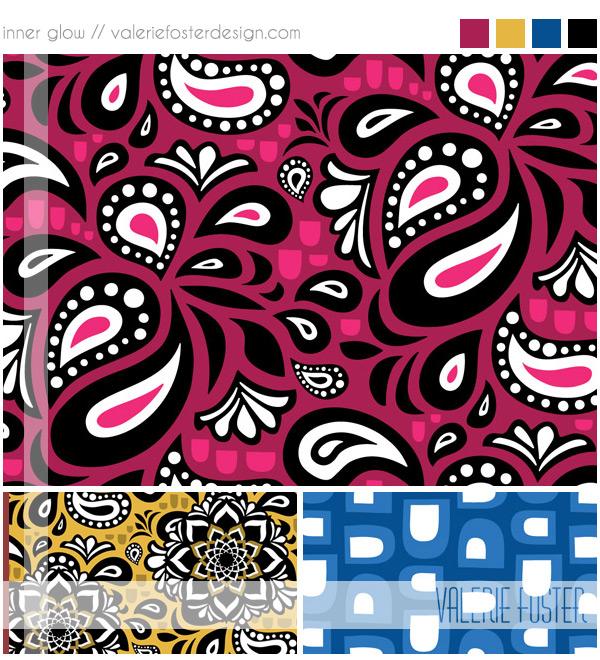©2015 Valerie Foster Design | valeriefosterdesign.com | Represented by Pink Light Studio | SURTEX 2014 BOOTH 417 and 516
