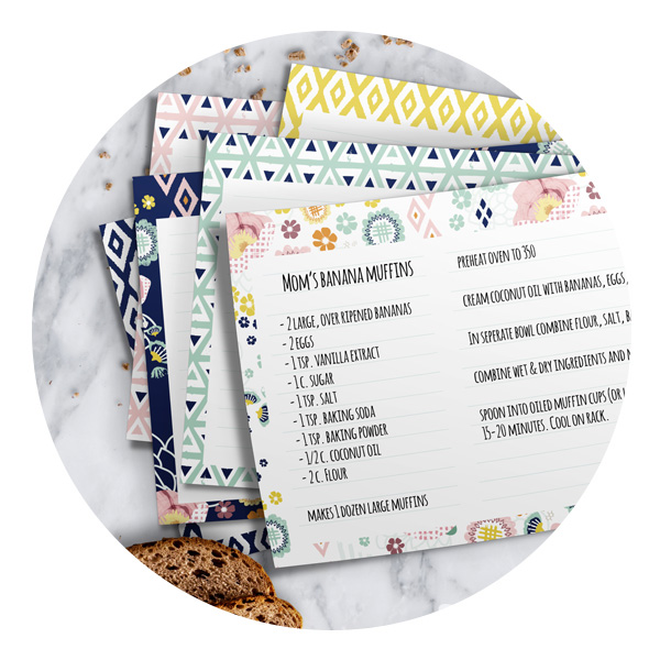 Printables - Download and print Tradewind stationery, scrapbook and