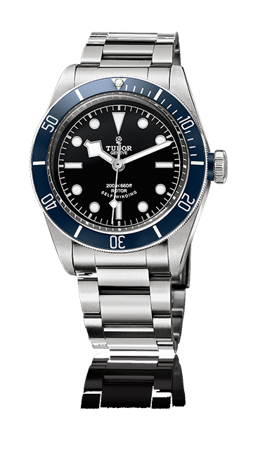 Heritage Black Bay, Steel Bracelet (Blue)