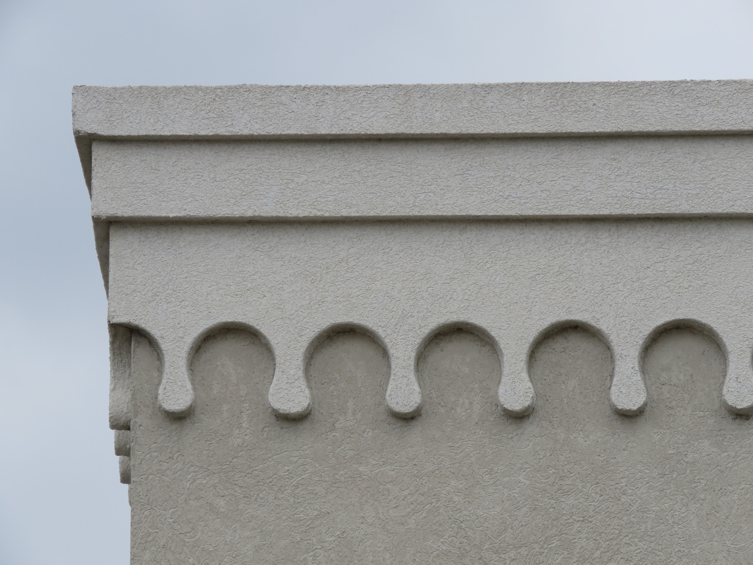 One reason EIFS is so popular is that it makes decorative details easy to create.