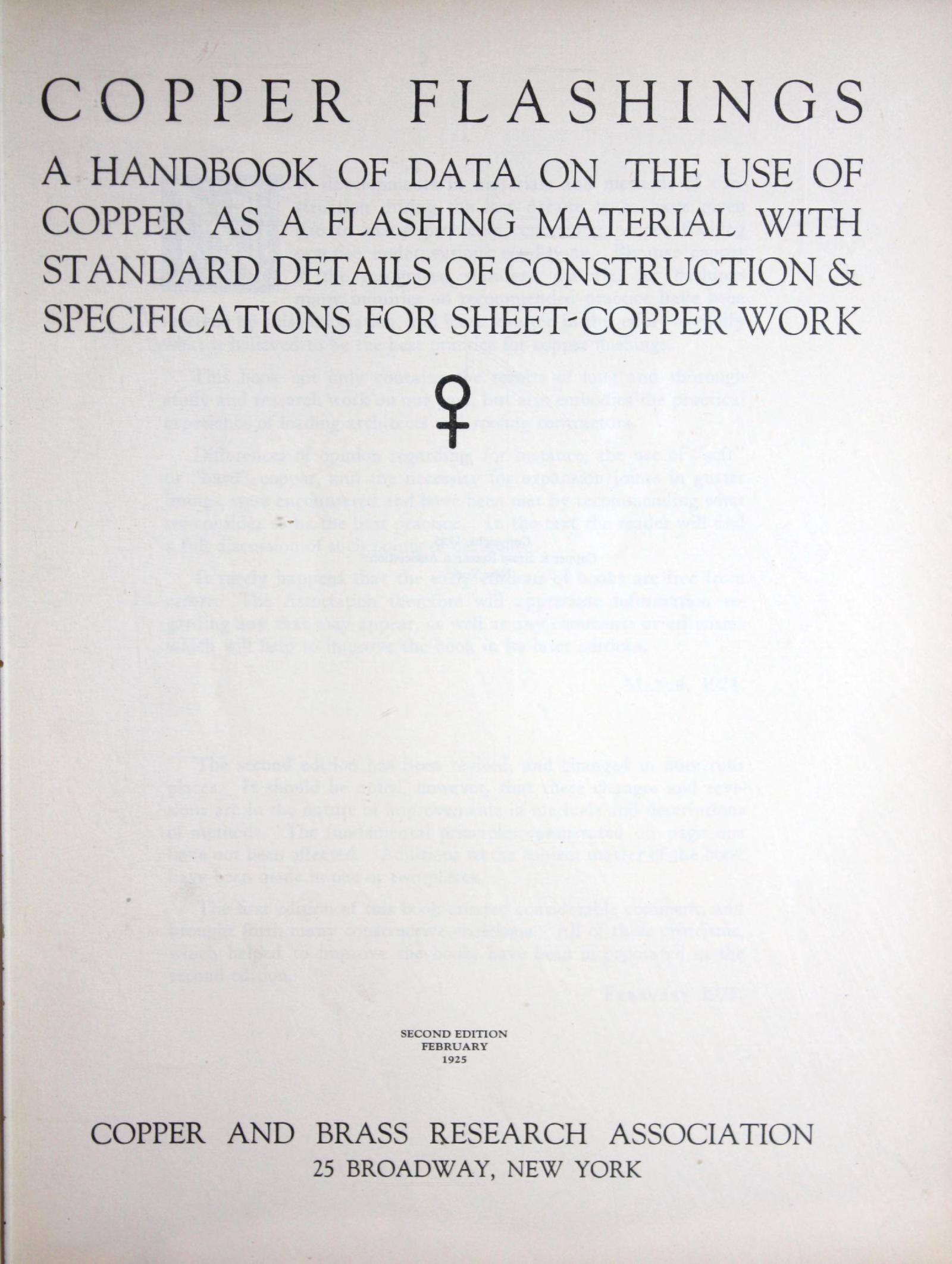Copper Flashings - Copper And Brass Research Association - Title Page.jpg