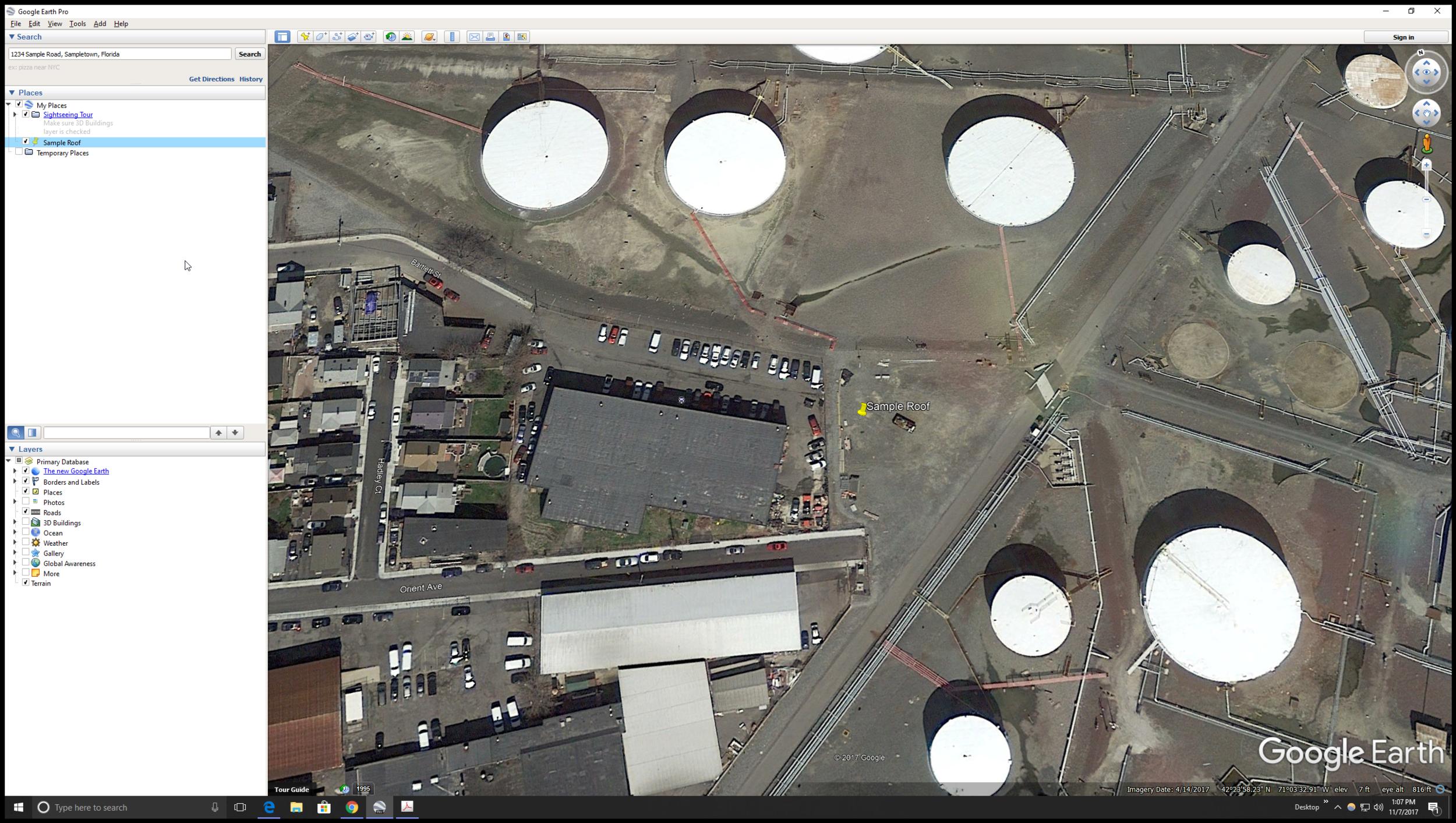 Screen Shot Google Earth Pinned Address.PNG