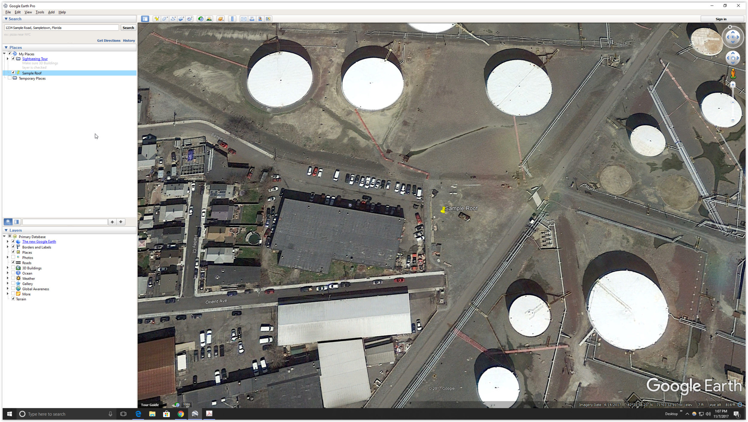 Screen Shot Google Earth Pinned Address.PNG
