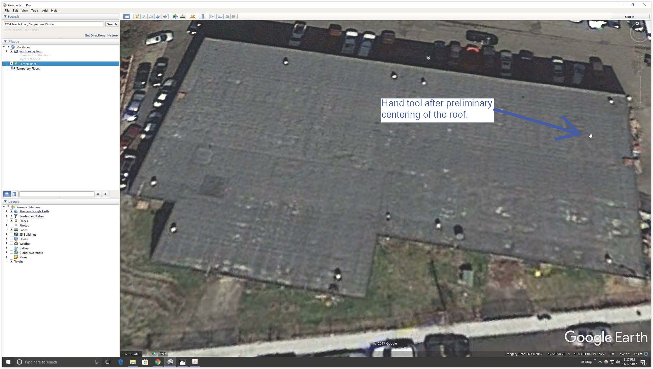 Screen Shot Google Earth Centered Roof.jpg