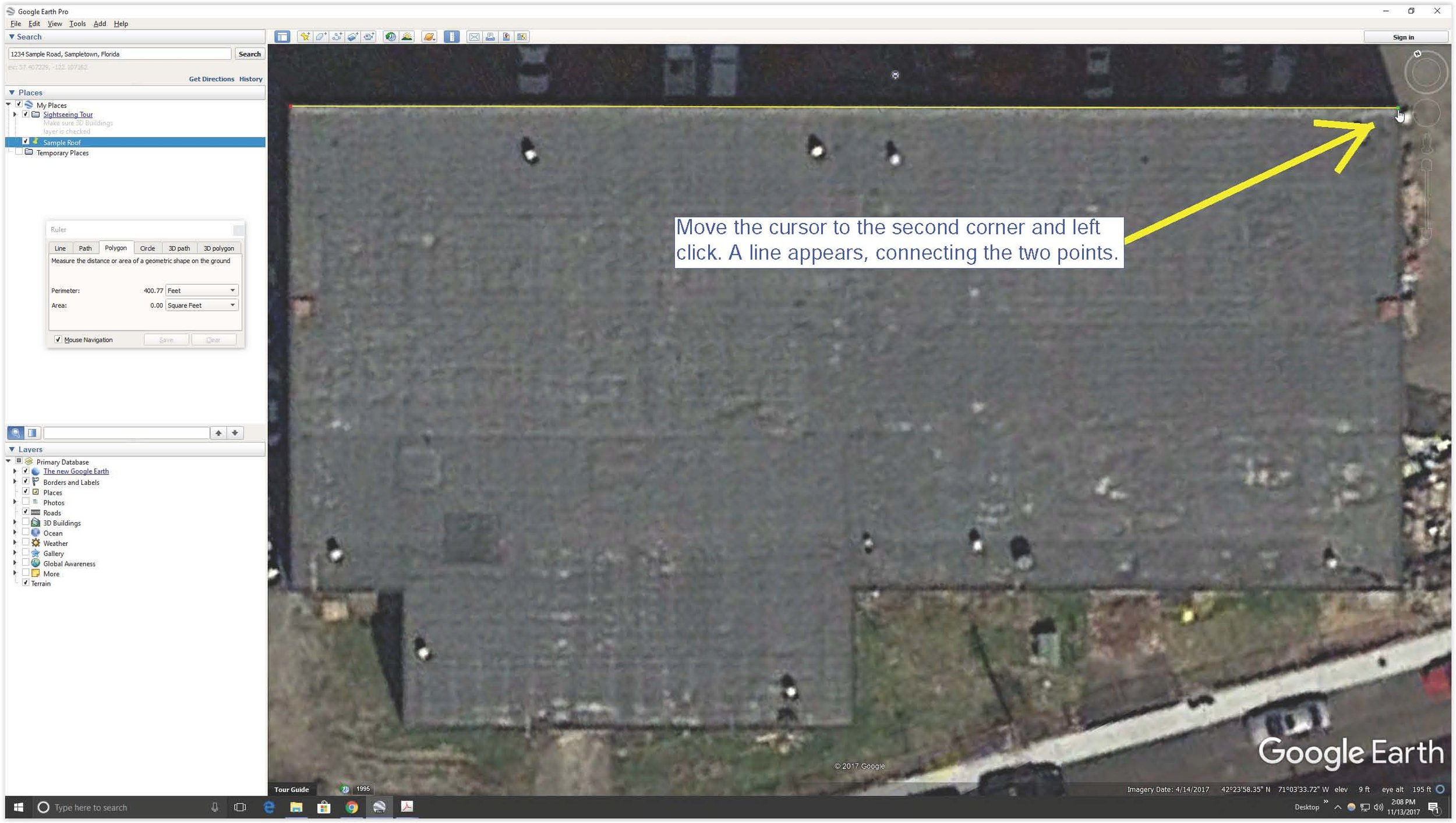 Screen Shot Google Earth Second Roof Corner.jpg