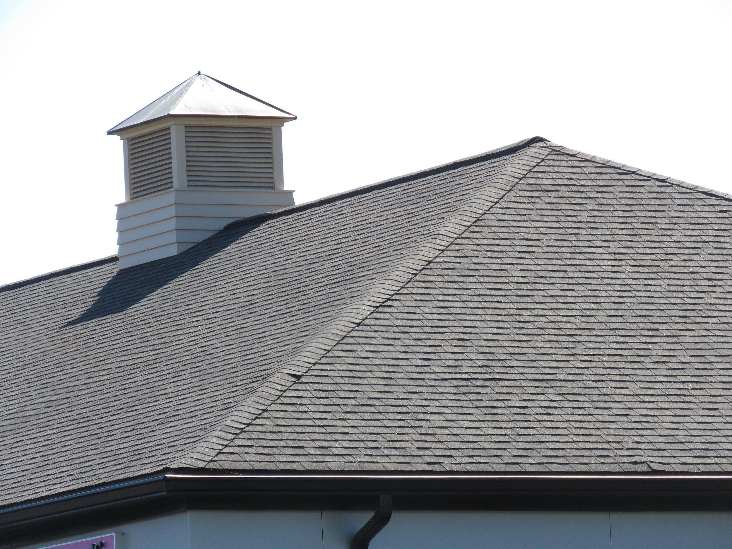 A roof hip!