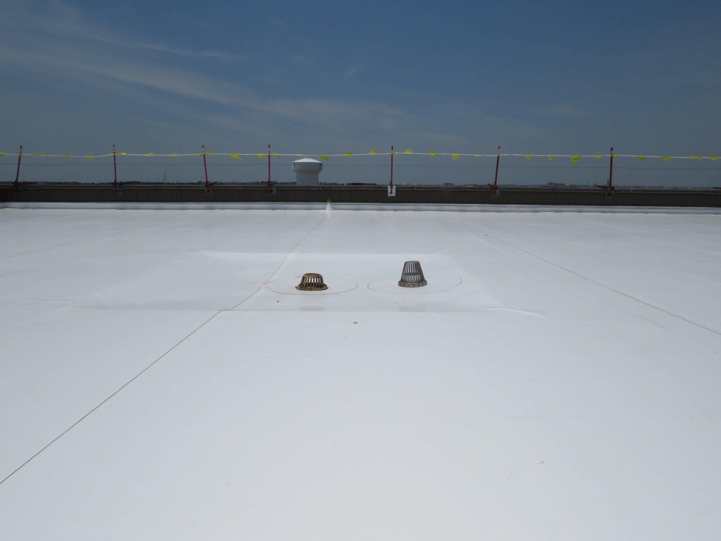 A PVC Single-Ply Roof Membrane