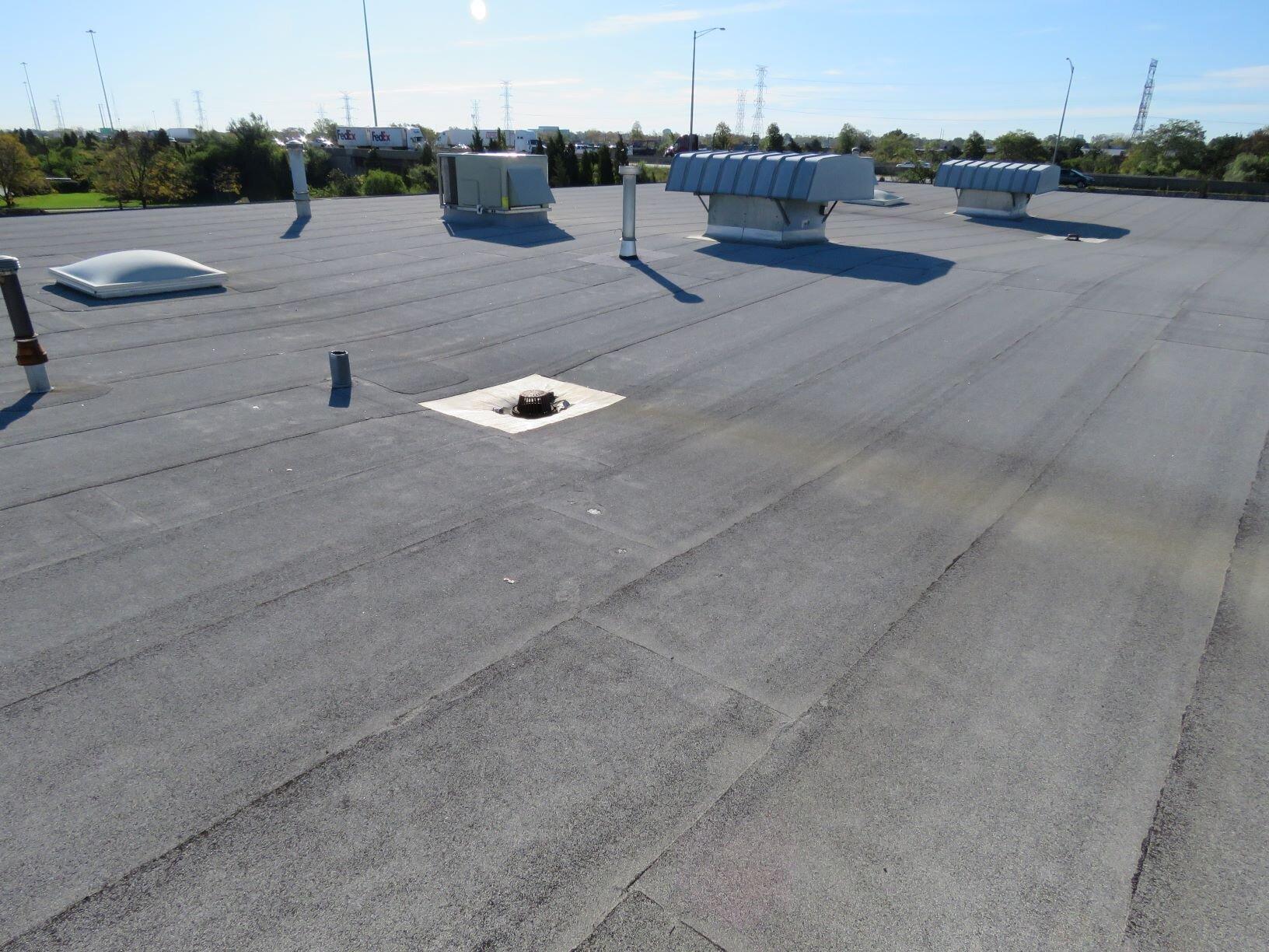 SBS-modified bitumen roof.