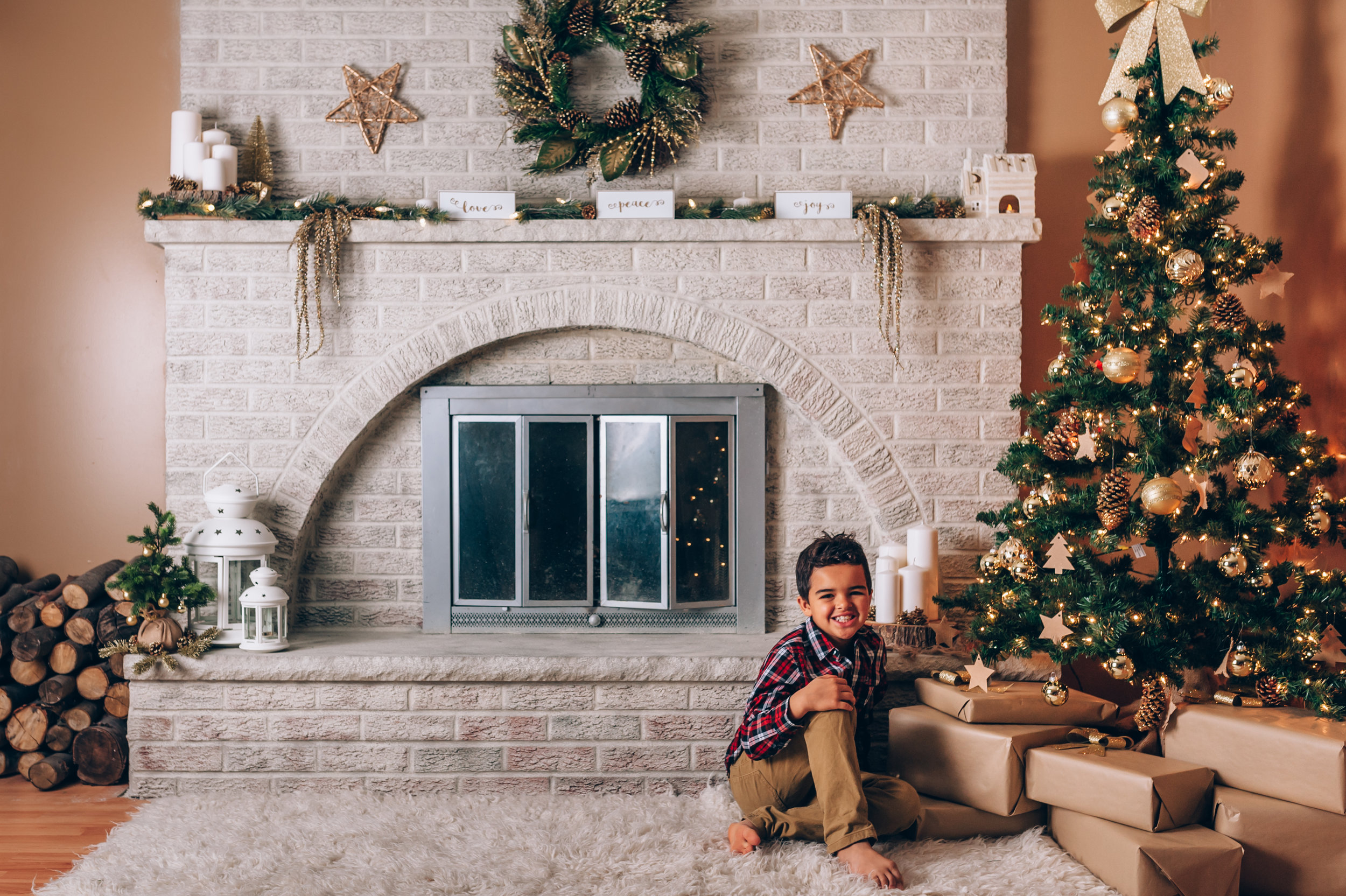 christmas, mini session, Christmas session, christmas set, family, siblings