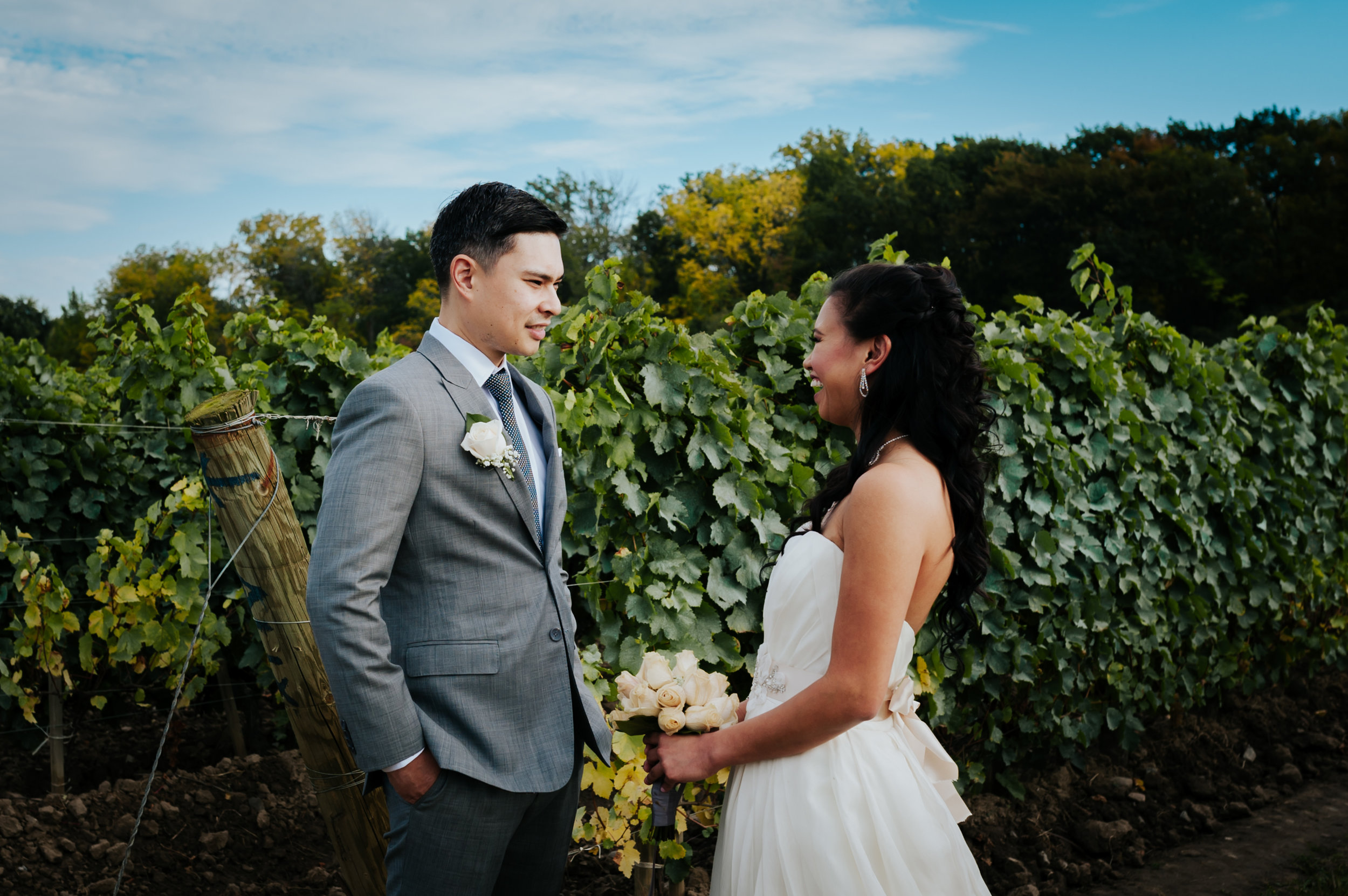 wedding photographer, vineyard, Niagara-On-The_Lake, love, Burlington wedding photographer,first look