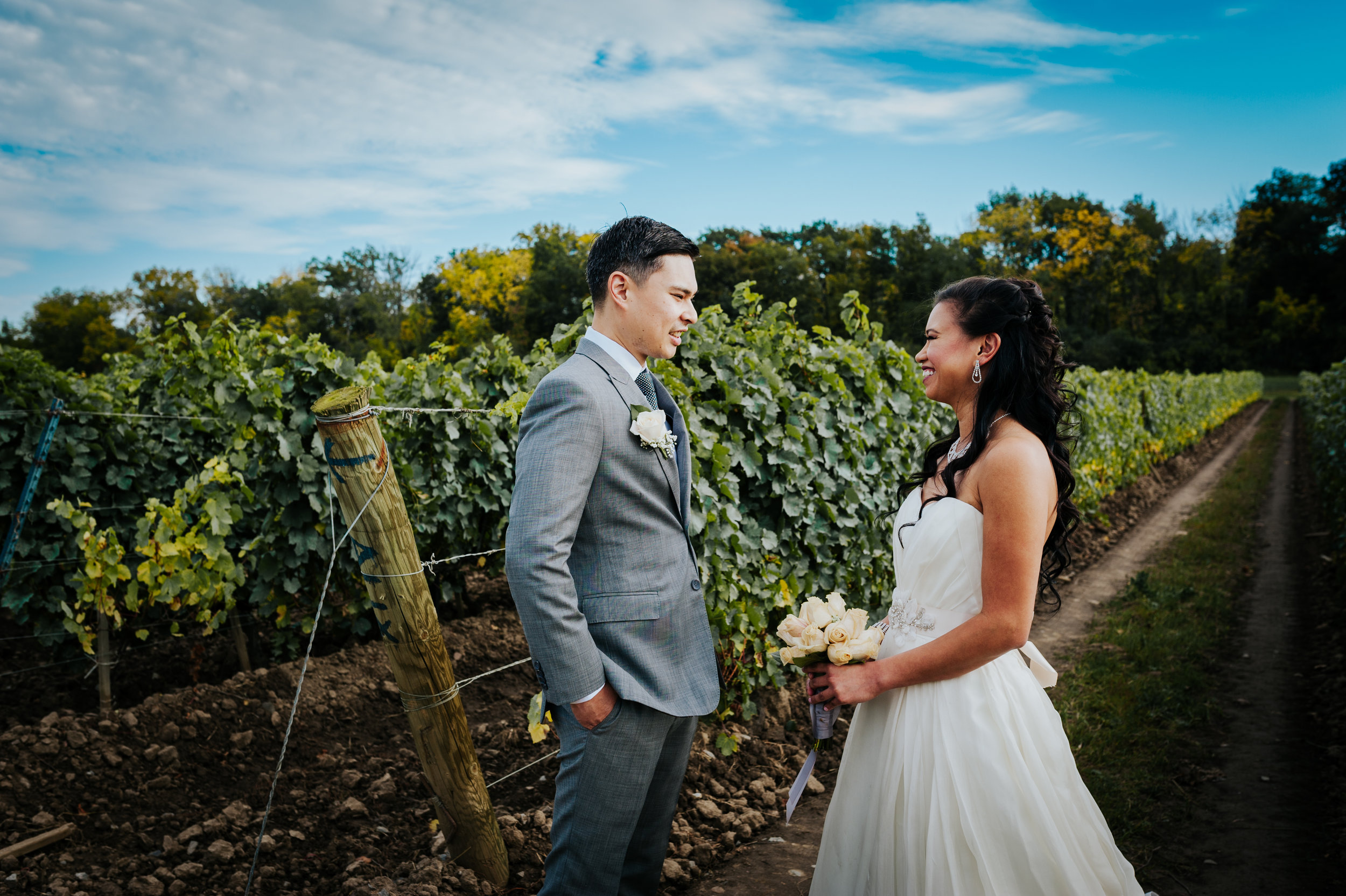 wedding photographer, vineyard, Niagara-On-The_Lake, love, Burlington wedding photographer,first look