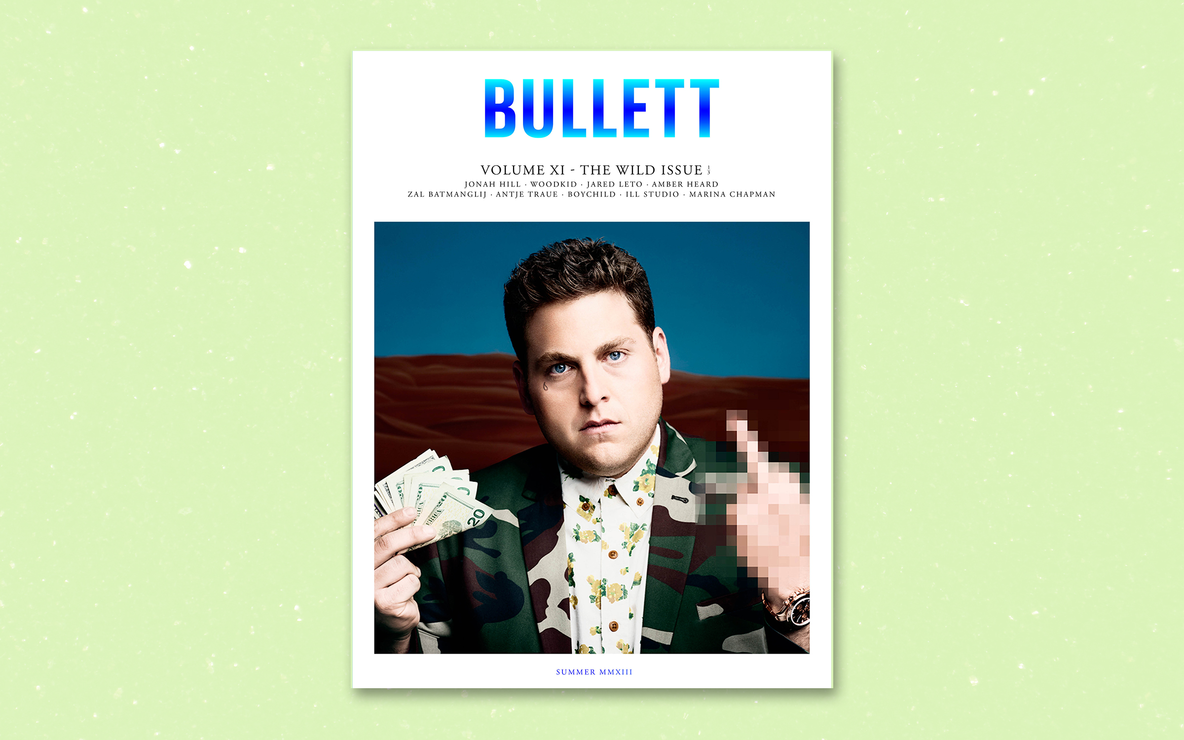 Bullett Volume XI: The Wild Issue 1/3 _ 2013   Graphic Design, Interaction Design