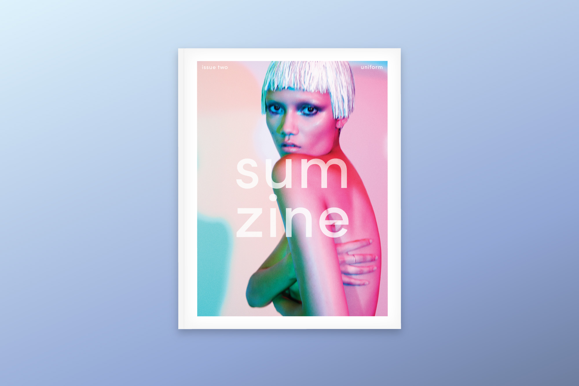 Sumzine, Uniform Issue _ 2014   Design Direction, Editorial, Fashion