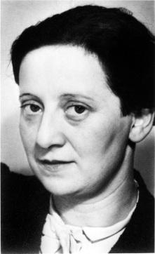 La maestra checaFreidl Dicker-Brandeis, que enseñó arte, a escondidas, en el campo de concentración de Terezin, en las afueras de Praga, durante la Segunda Guerra Mundial.