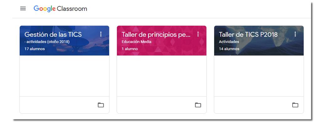 * Se puede solicitar ingreso al curso de muestra Taller de principios pedagógicos a través del formulario de contacto que aparece al final de la página.