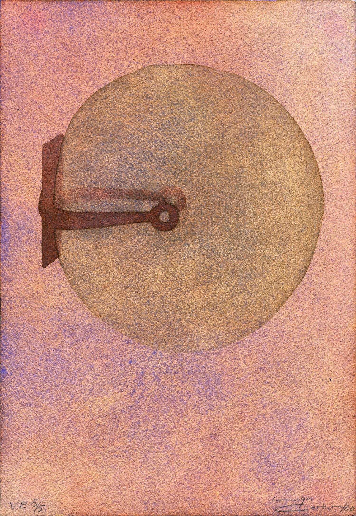 LYN CARTER    Swallowing Air: Study , 2000 Watercolour