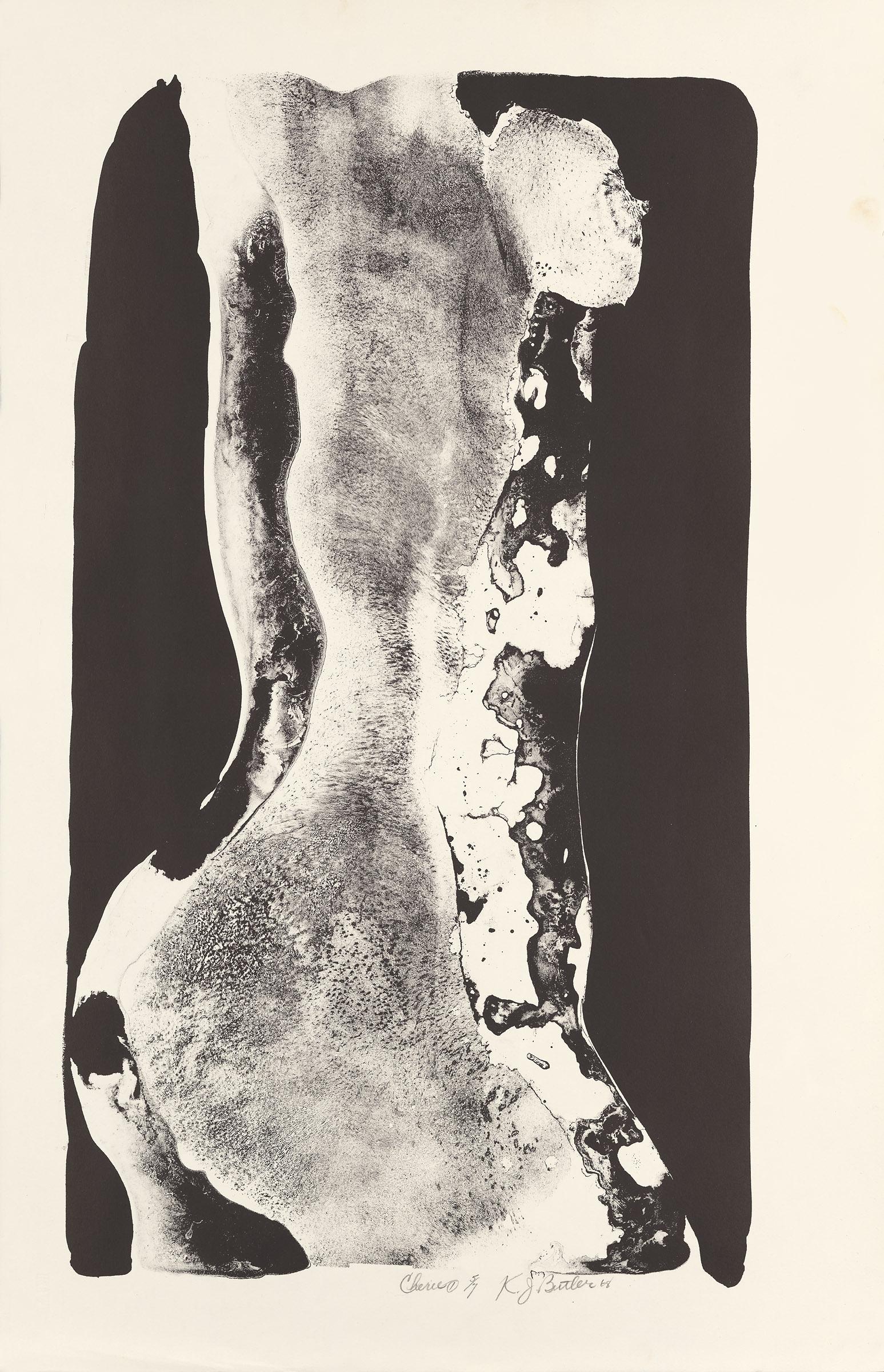 Cherie 1 , 1968 Lithograph, 5/7