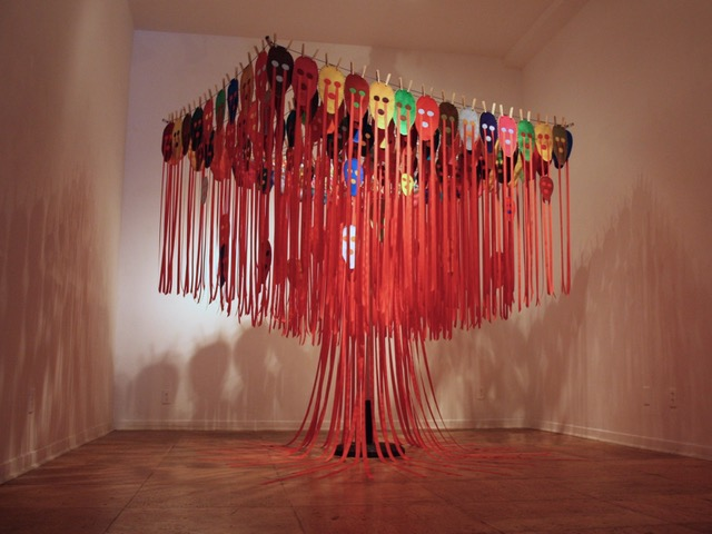 Weeping Willow  (installation view) Mixed Media