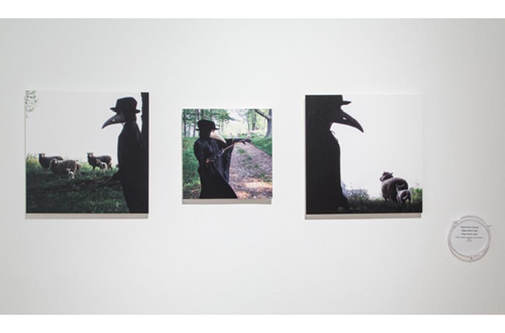Plague Doctor  (series),2013 Digital prints Various sizes