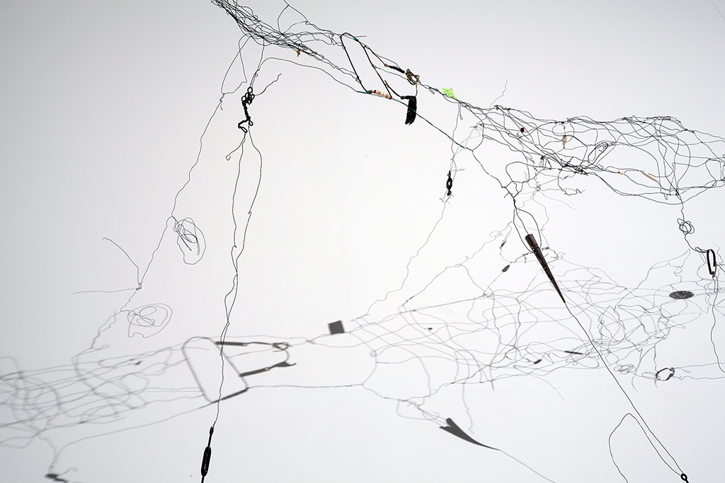 Tethered Memories (Details), 2011 Mixed Media Wire