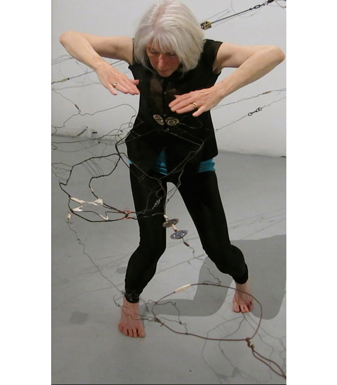 Collected Memories (Detail), 2014 Performer/ Choreographer: Terrill Maguire Performance time: 10 minutes