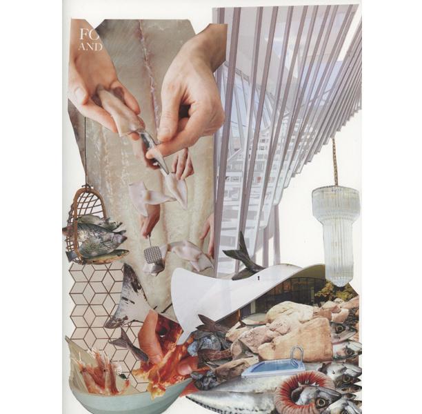 Frutti di Mare , 2015 Hand cut collage 30.5 x 22.9 (cm)