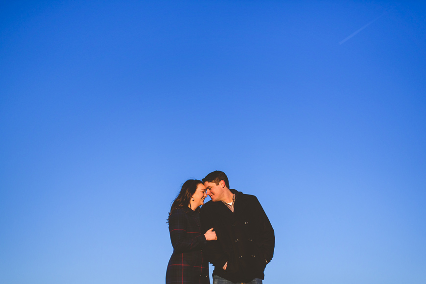 004 blue sky portrait of engaged couple.jpg