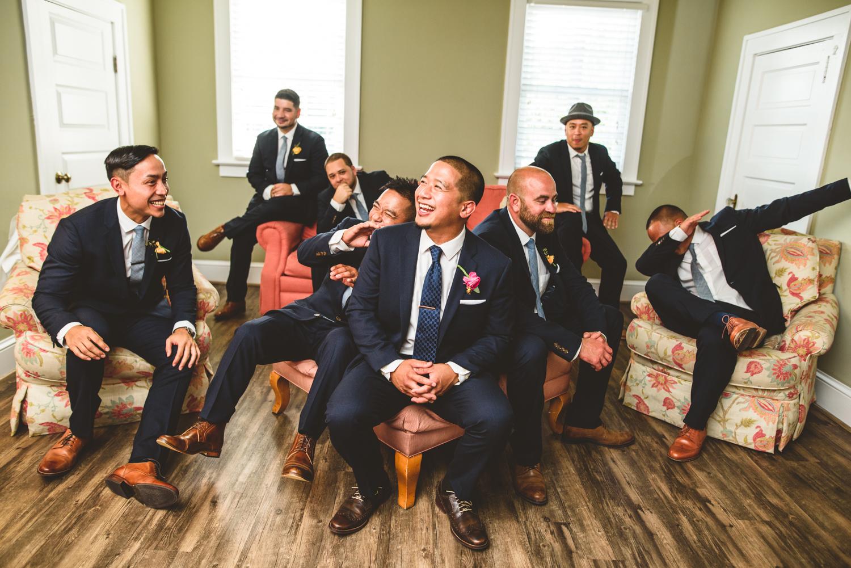 032 filipino wedding virginia groom with groomsmen photo - Richmond Wedding Photographer.jpg