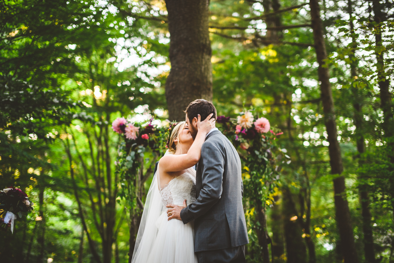 012 - the best first kiss ever forest richmond wedding photographer nathan mitchell.jpg