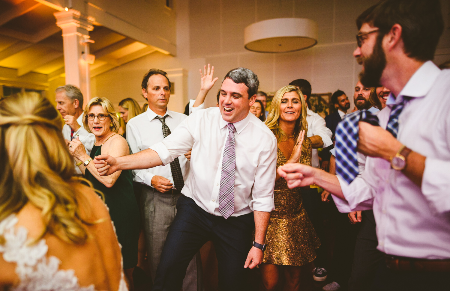 015 - groom dances during wedding reception.jpg