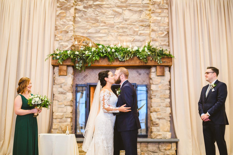 027 - first kiss bride and groom ski liberty mountain resort wedding.jpg