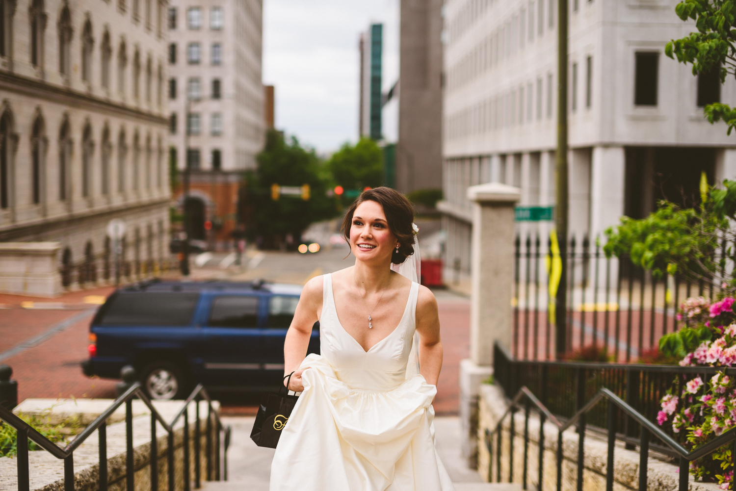 007 - bride walking up to see groom for their first look.jpg