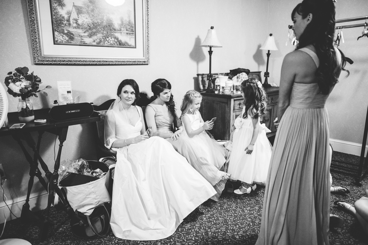 015 - bride waits in the green room before the wedding ceremony.jpg