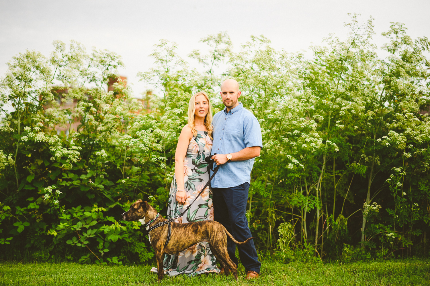 009 - a couple poses with their dog in richmond virginia.jpg