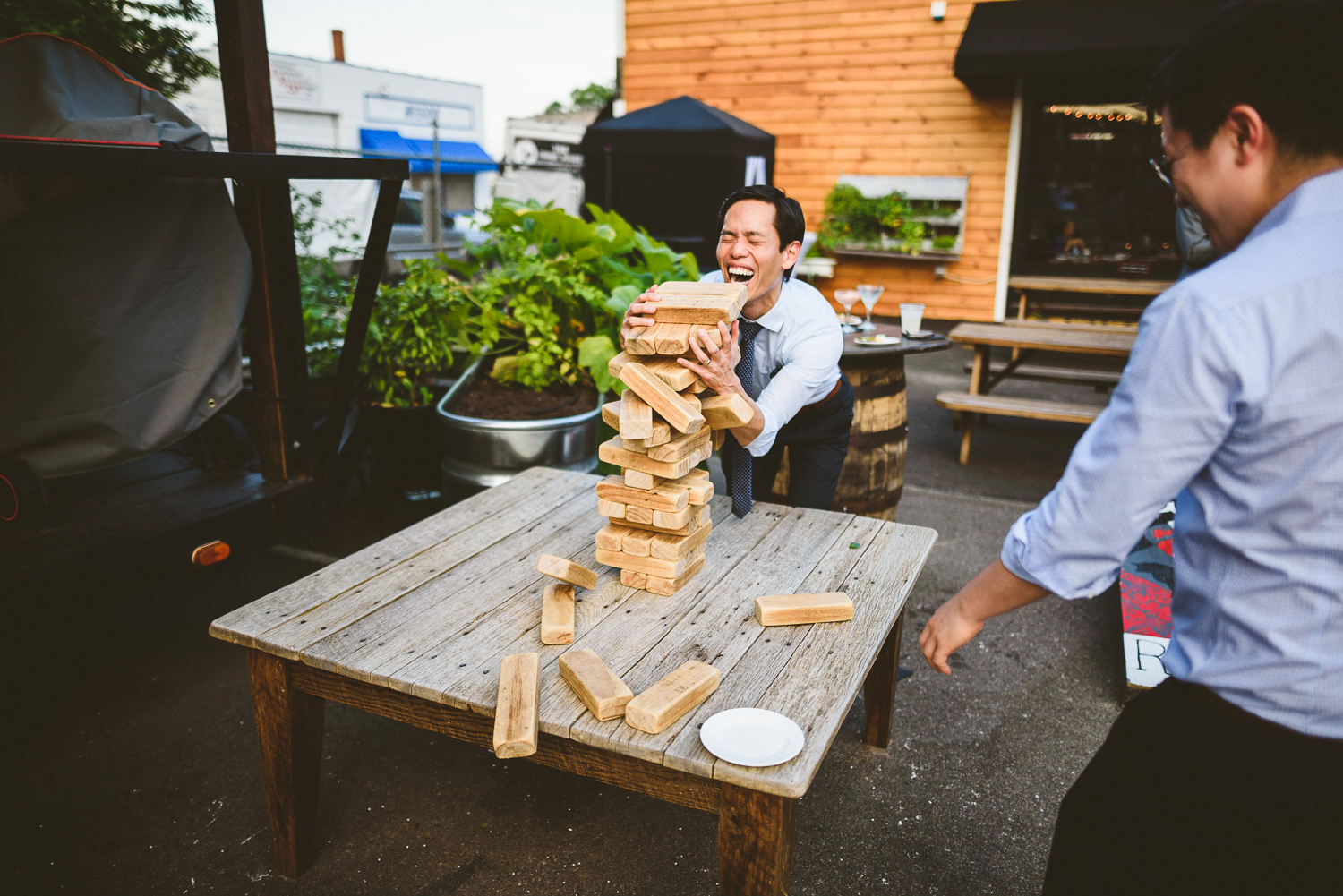 046 - giant jenga fail wedding at urban roost in richmond virginia.jpg