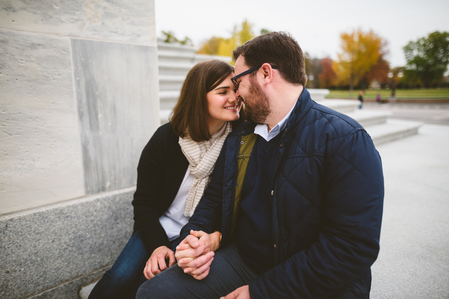 007 - engagement session on the steps of the United States Capitol.jpg