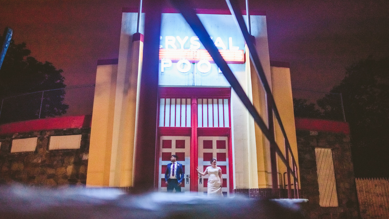 043 - night portrait double exposure bride and groom glen echo maryland wedding photographer.jpg