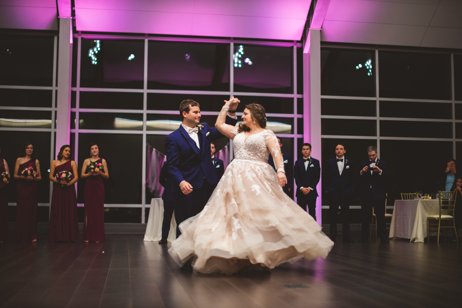082 - bride and groom first dance - baltimore and washington dc wedding photographer nathan mitchell.jpg