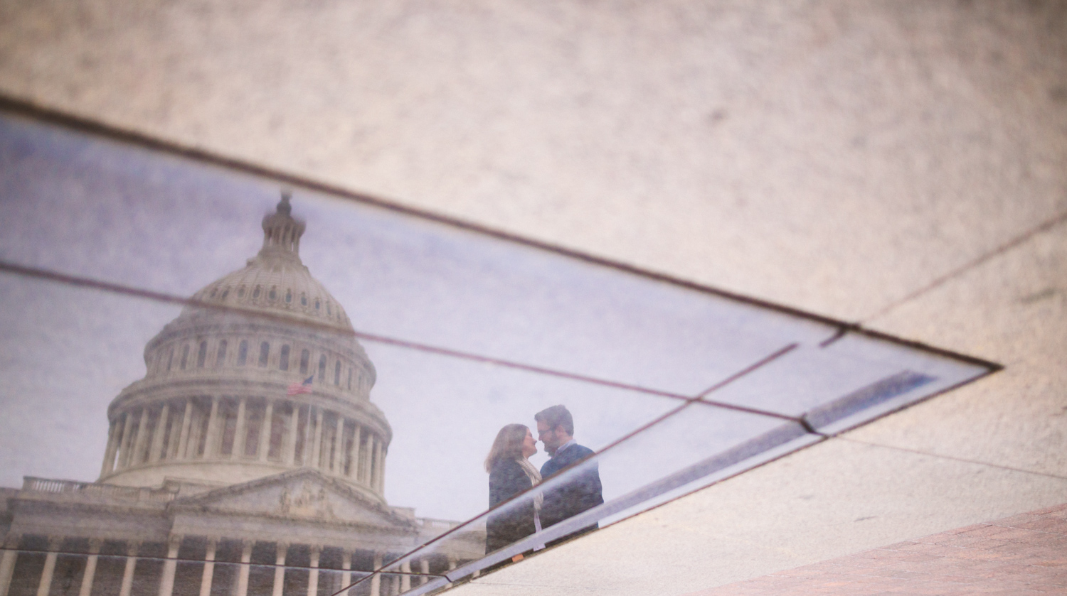 087 - washington dc wedding photographer engagement session at dc capitol.jpg