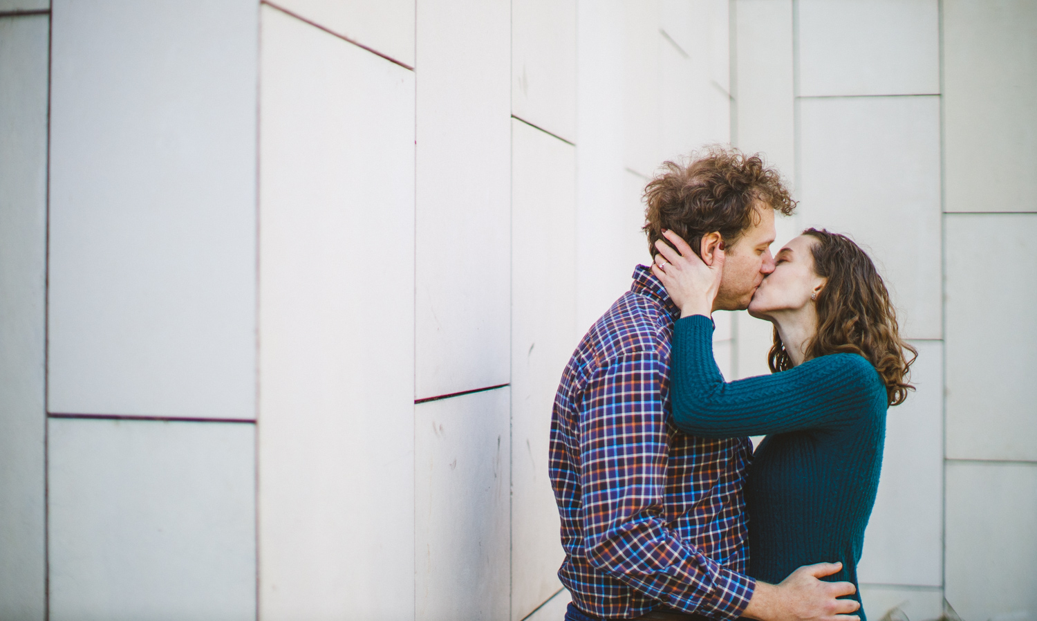 005 - man and woman kissing in DC engagement session.jpg