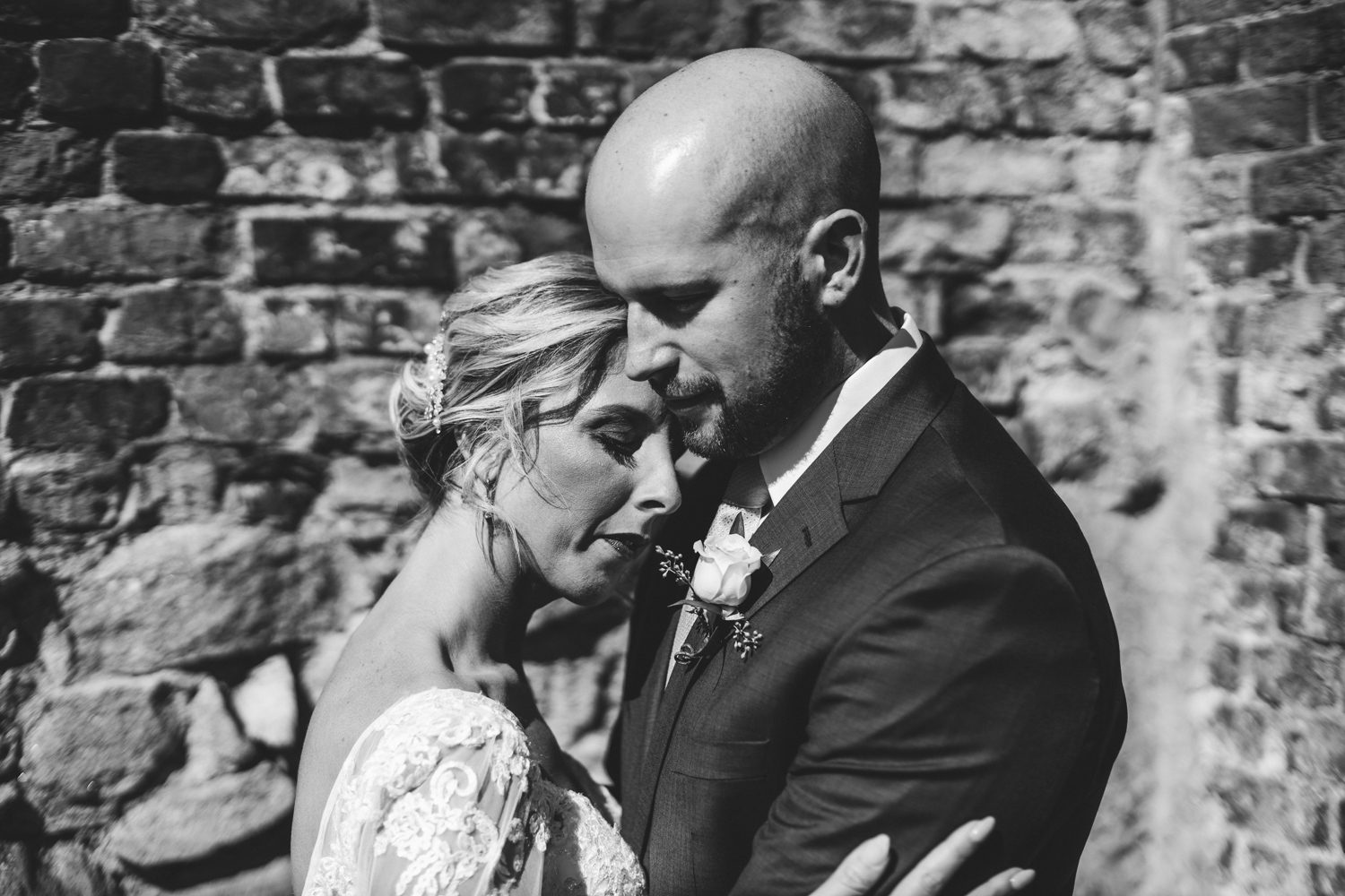 011 - black and white portrait of bride and groom baltimore wedding photographer nathan mitchell.jpg