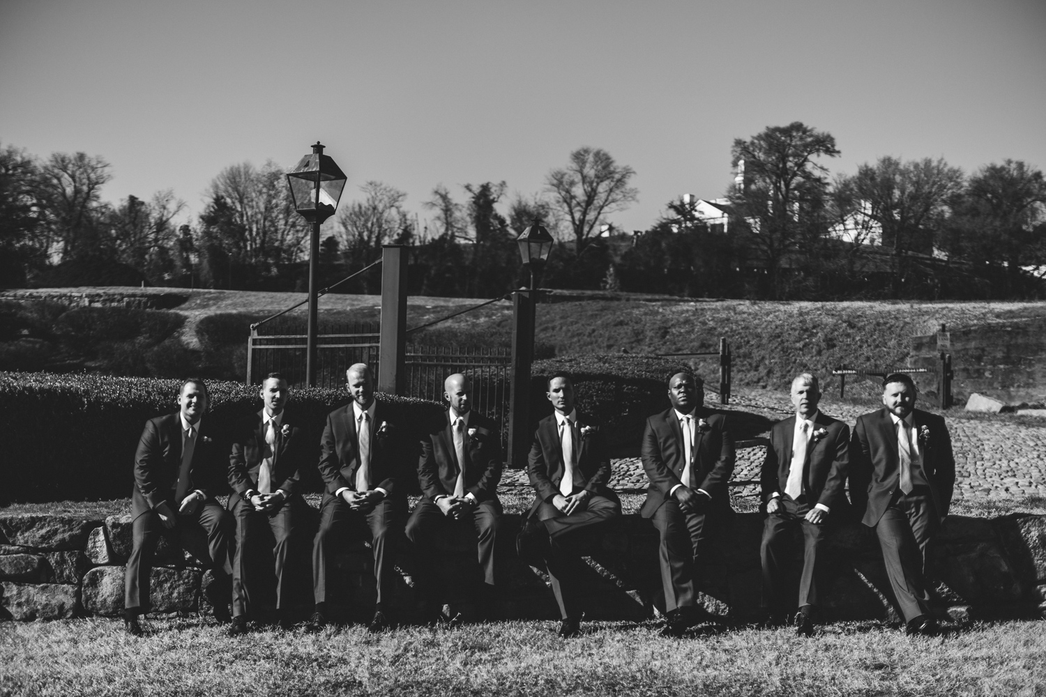 021 - groom with groomsmen black and white.jpg