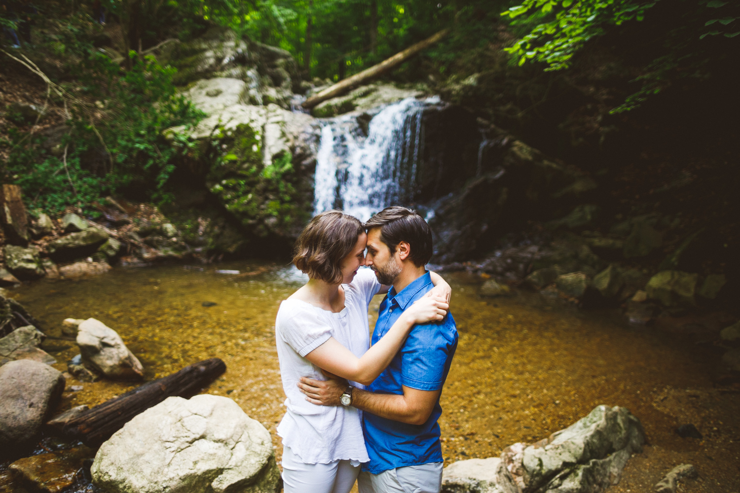 002 - cascade falls trail patapsco valley state park engagement session.jpg