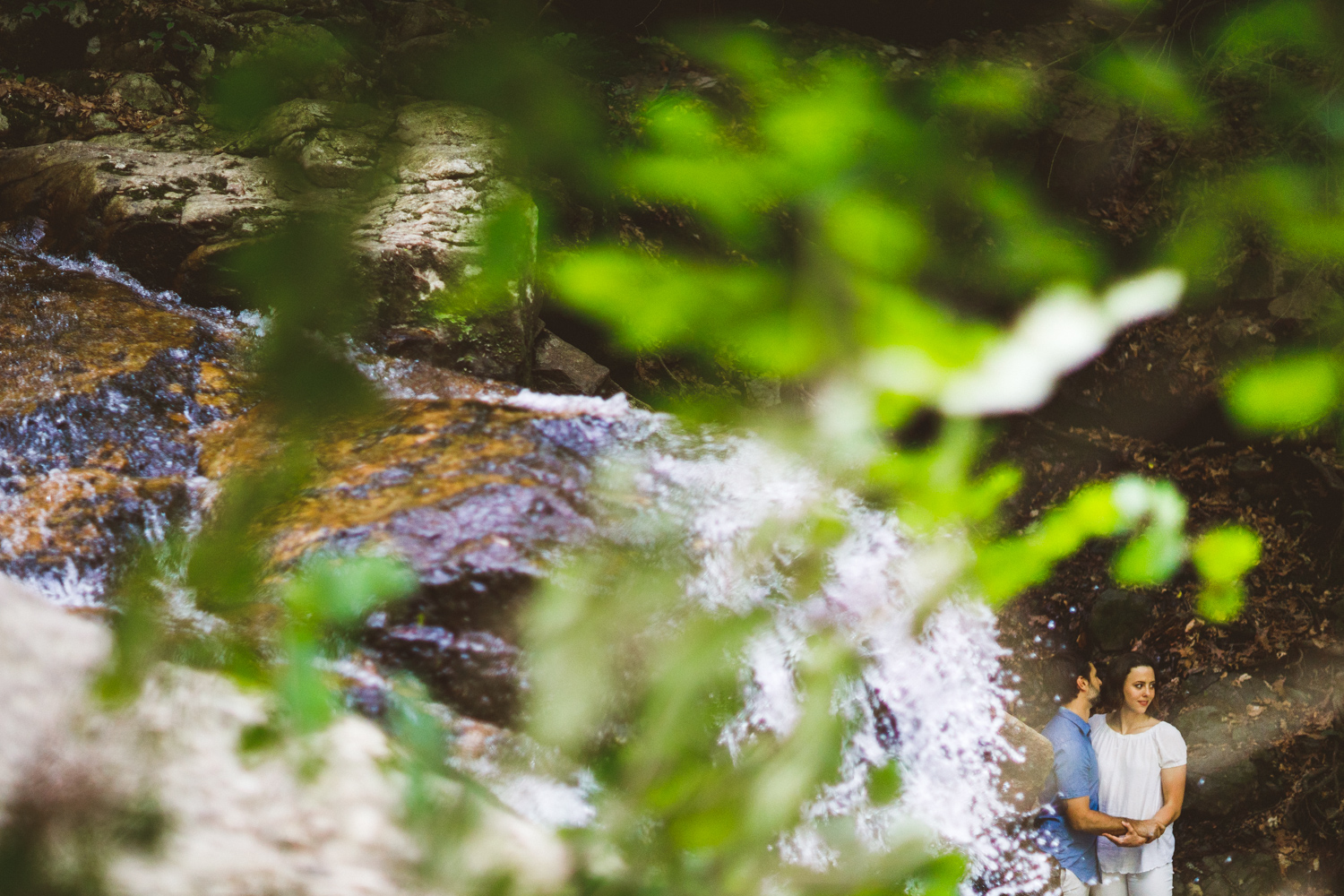 004 - state park engagement session at Cascade Falls Maryland.jpg