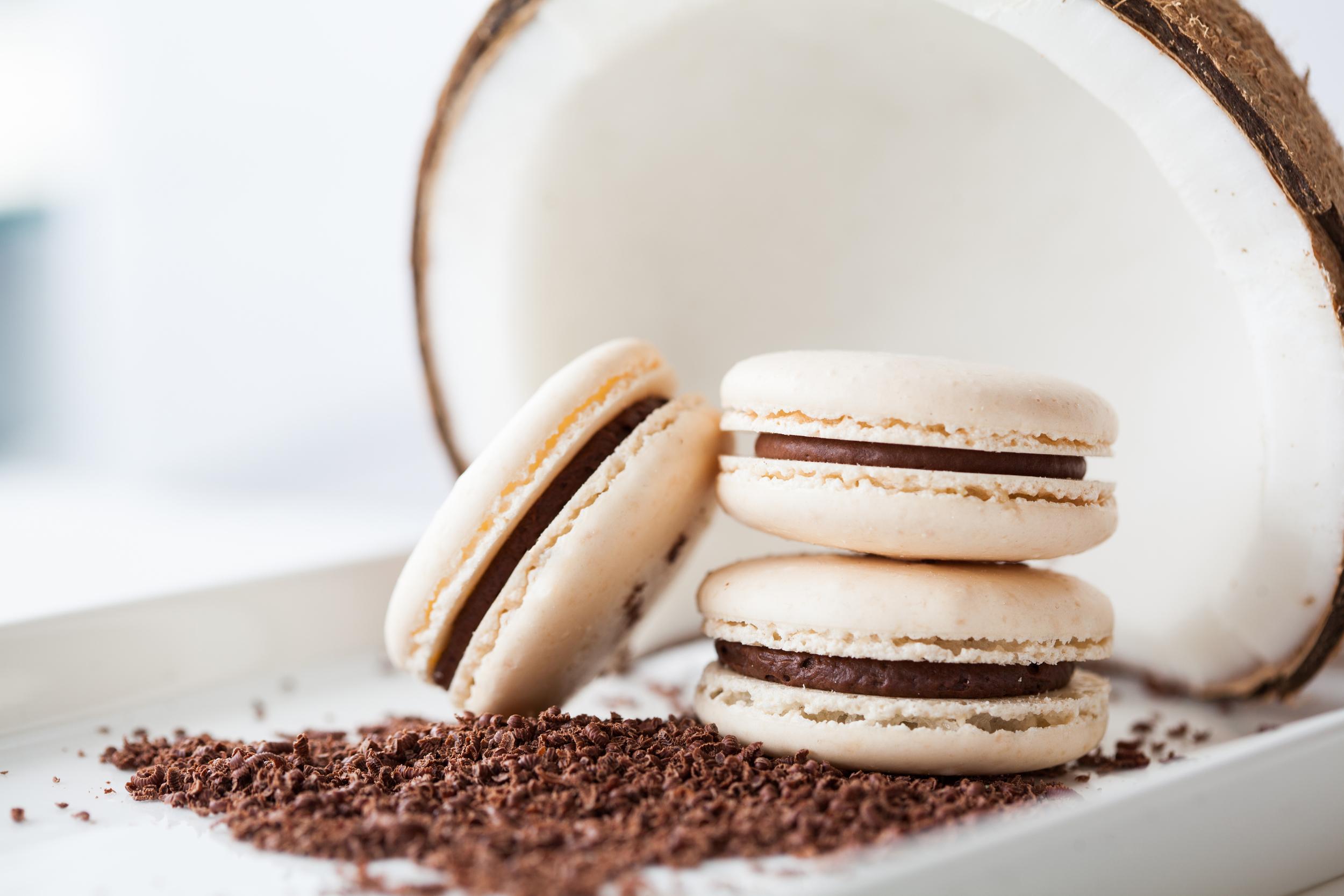 Coconut Dark Chocolate (seasonal)