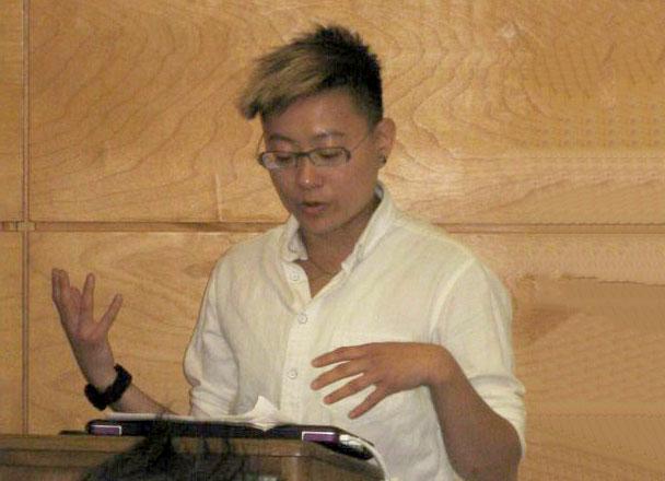 Talks-Asian American Studies Panel 2016 (top right- clckwise- Lee Ann Wang, Jin Haritaworn, me, Sonya Munshi, photo by Chris Finley.jpg